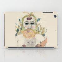 men iPad Cases featuring three men by Édgar MT