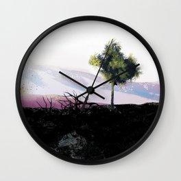 Last tree standing Wall Clock