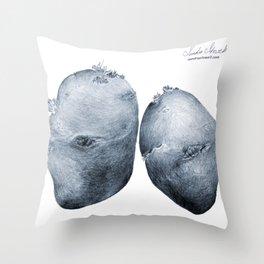 One Potato, Two Throw Pillow