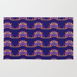 Electric Orchard Rug