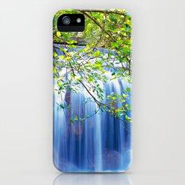 Erawan waterfall iPhone Case