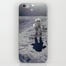 Apollo 16 On the Craters Edge iPhone Skin