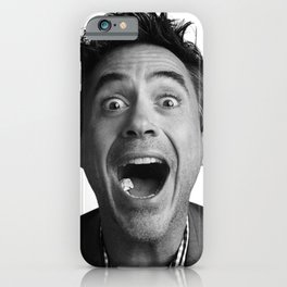 Robert downey jr iPhone Case