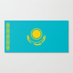 Kazakhstan country flag Canvas Print