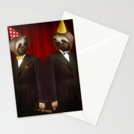 The Legendary Sloth Brothers Stationery Cards