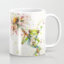 Hello There Bright Eyes (Green Tree Frog) Coffee Mug