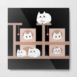 cats 232 Metal Print