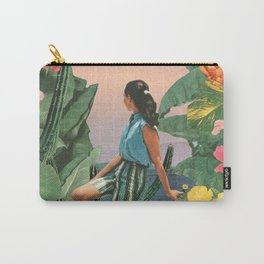 Botanical Cove Carry-All Pouch