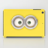 minions iPad Cases featuring minions by cat&wolf