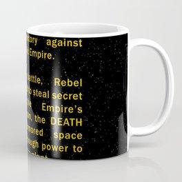 Episode IV Crawl Text Coffee Mug