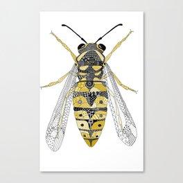 Yellowjacket Wasp Canvas Print