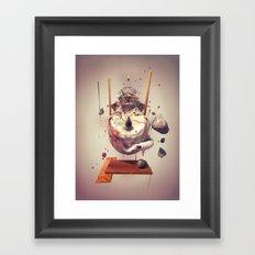 NOSUN Framed Art Print
