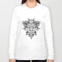 deathly hallows Long Sleeve T-shirts featuring Deathly Hallows  by KropsGrafik