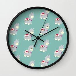 llamazing! Wall Clock