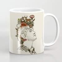 will graham Mugs featuring This Is My Design by Huebucket