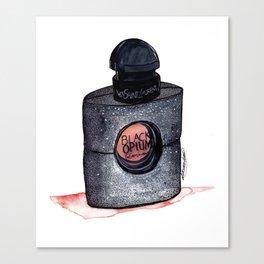 Black Opium Canvas Print