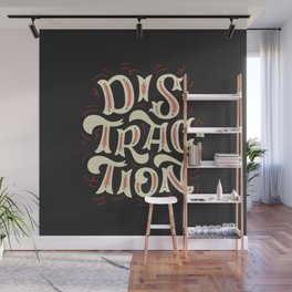 DISTRACTION // Off-White Wall Mural