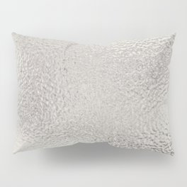 Simply Metallic in Silver Pillow Sham