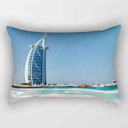 Dubaï, Burj Al Arab An eternal sensation Rectangular Pillow