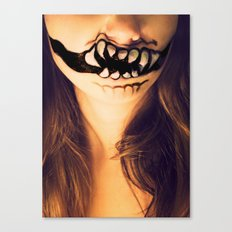 October's Mouth Canvas Print