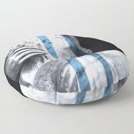 Sadness. Floor Pillow