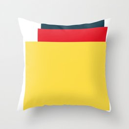 Mid Century Modern Vintage 25 Throw Pillow