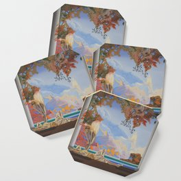 After Maxfield Parrish Coaster