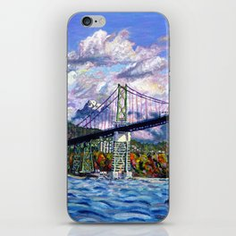 The Lions Gate, Vancouver iPhone Skin