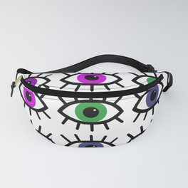 Open Your Eyes - Festival Pattern Fanny Pack