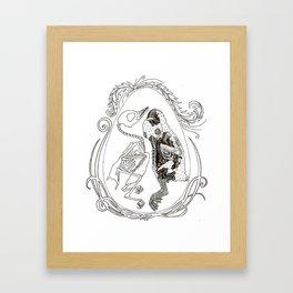 goslings Framed Art Print