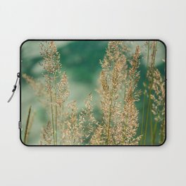 Grass on the water Laptop Sleeve