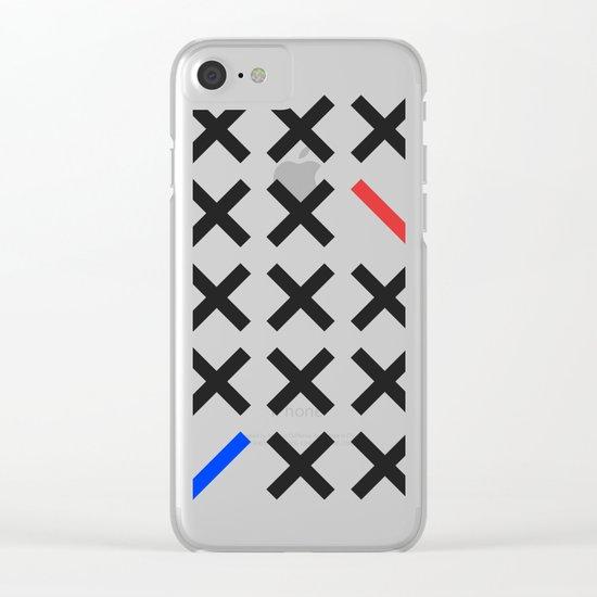 Minimalism 3 Clear iPhone Case