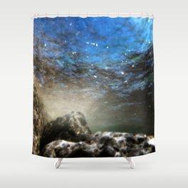 Aqua 6 Shower Curtain
