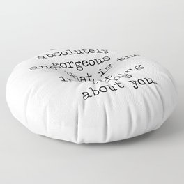 Absolutely Gorgeous Floor Pillow