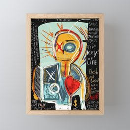 This is my thinking Framed Mini Art Print
