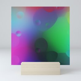 misc fantasy color drops C Mini Art Print