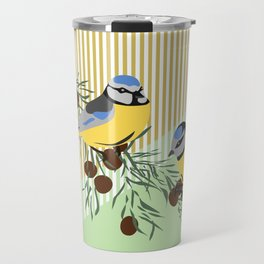 two birds in harmonie Travel Mug