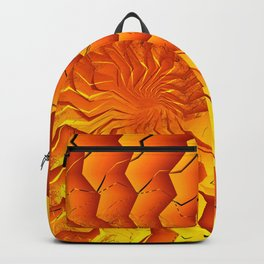 Broken Geometry 3 Abstract Fractal Art Backpack
