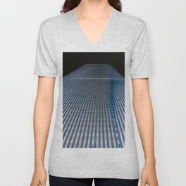 Twin Tower One Unisex V-Neck