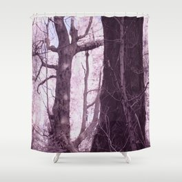 If A Tree Falls... Shower Curtain