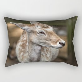 Spotted Deer Rectangular Pillow