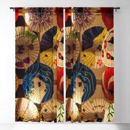 Japanese Umbrellas Blackout Curtain