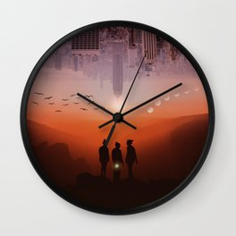 Three missing women by GEN Z Wall Clock