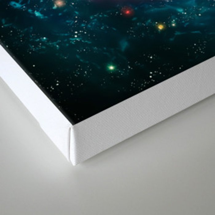 Spiral Galaxy Canvas Print