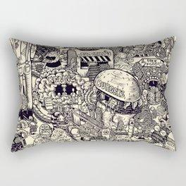 Monster Mart Rectangular Pillow