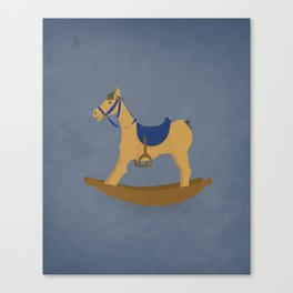 Abandoned Toys   Noble Steed Canvas Print