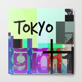 City love, Tokyo, Japan Metal Print