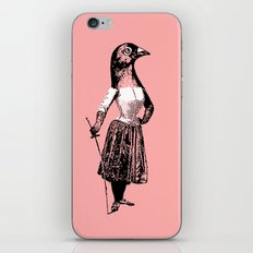 The Fencing Pigeon iPhone & iPod Skin