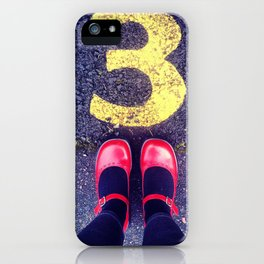 3 Shoes iPhone Case