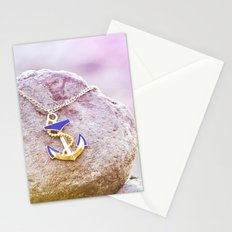 Anchor at the rock Stationery Cards